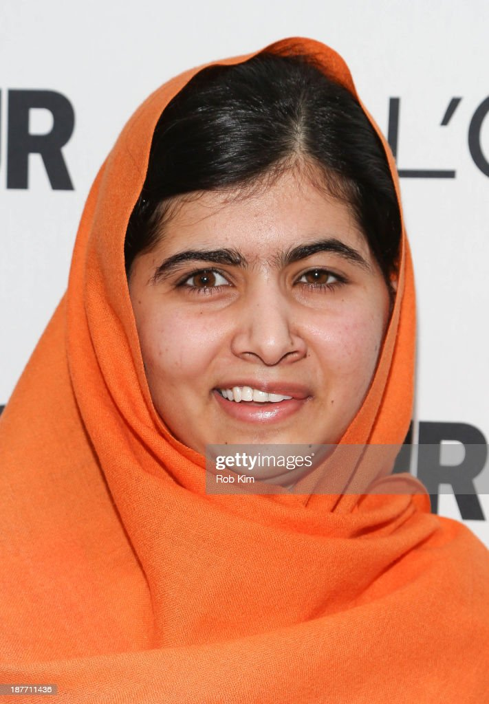 Malala Yousafzai attends the Glamour Magazine 23rd annual Women Of The Year gala on November 11, 2013 in New York, United States.