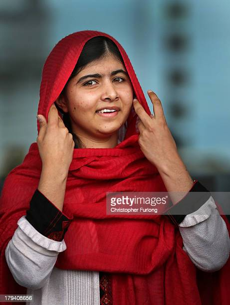 Malala Yousafzai opens the new Library of Birmingham at Centenary Square on September 3, 2013 in Birmingham, England. The new futuristic building was...
