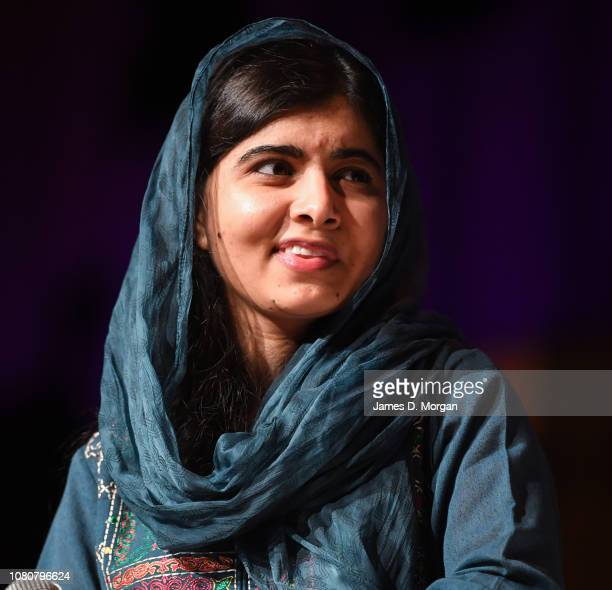 Malala Yousafzai speaks to thousands of guests at The Melbourne Convention and Exhibition Centre on December 11, 2018 in Melbourne, Australia. Malala...