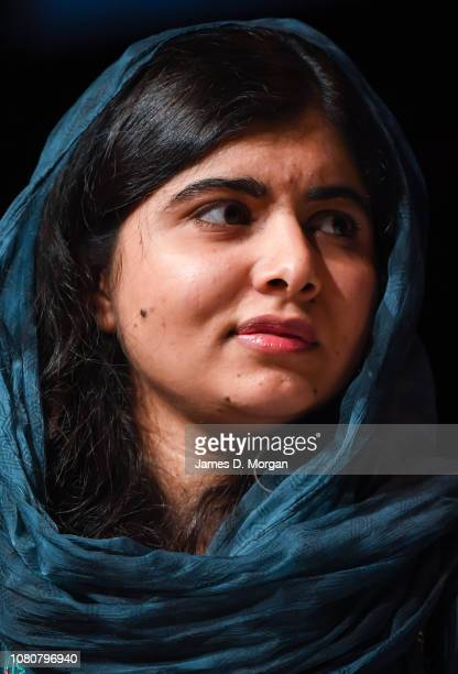 Malala Yousafzai speaks to thousands of guests at The Melbourne Convention and Exhibition Centre on December 11 2018 in Melbourne Australia Malala...