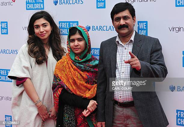 11 Family Of Malala Yousafzai Arrive In Uk Pictures, Photos