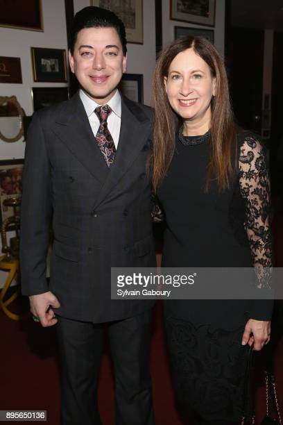 Malan Breton and Dr Penny Grant attend Jean Shafiroff's Holiday Party at Le Cirque in Honor of The New York Center for Children at Le Cirque on...
