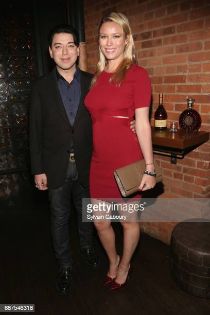 Malan Breton and Kiera Chaplin attend The Cinema Society with Remy Martin Frederique Constant host the after party for Pirates of the Caribbean Dead...