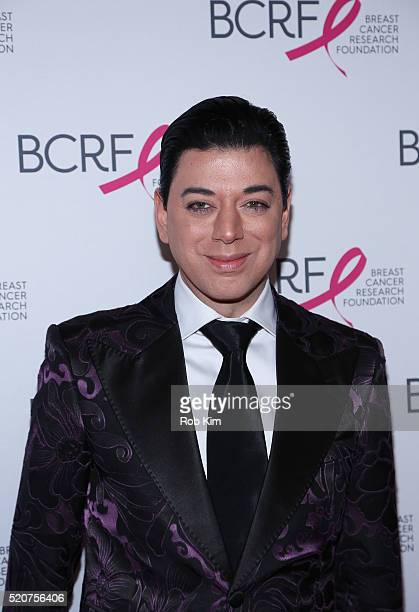 Malan Breton attends 2016 Breast Cancer Research Foundation Hot Pink Party at The Waldorf=Astoria on April 12 2016 in New York City