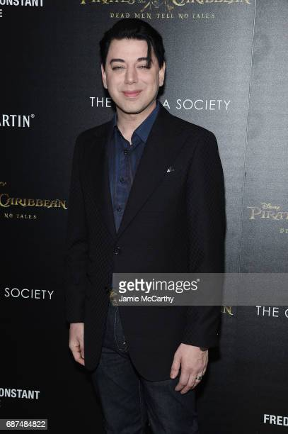 Malan Breton attends a screening of Pirates Of The Caribbean Dead Men Tell No Tales hosted by The Cinema Society at Crosby Street Hotel on May 23...