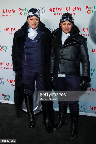 Malan Breton attends Heidi Klum's 18th Annual Halloween Party at Magic Hour Rooftop Bar Lounge on October 31 2017 in New York City