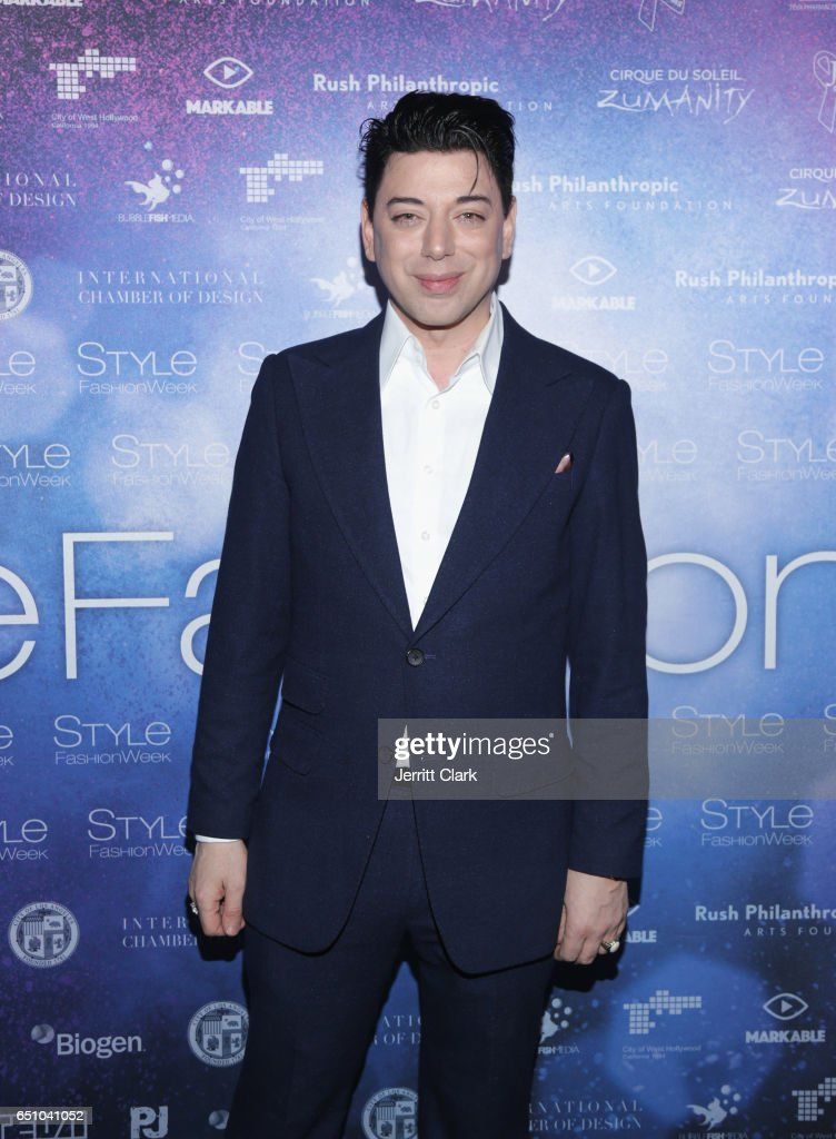 Malan Breton's 3D Cinematic Runway Show at Style Fashion Week Los Angeles : News Photo