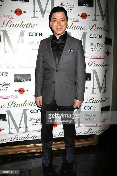 Malan Breton attends Malan Breton Couture Collection Unveiling Hosted By Dorinda Medley at Madame Paulette on December 8 2015 in New York City