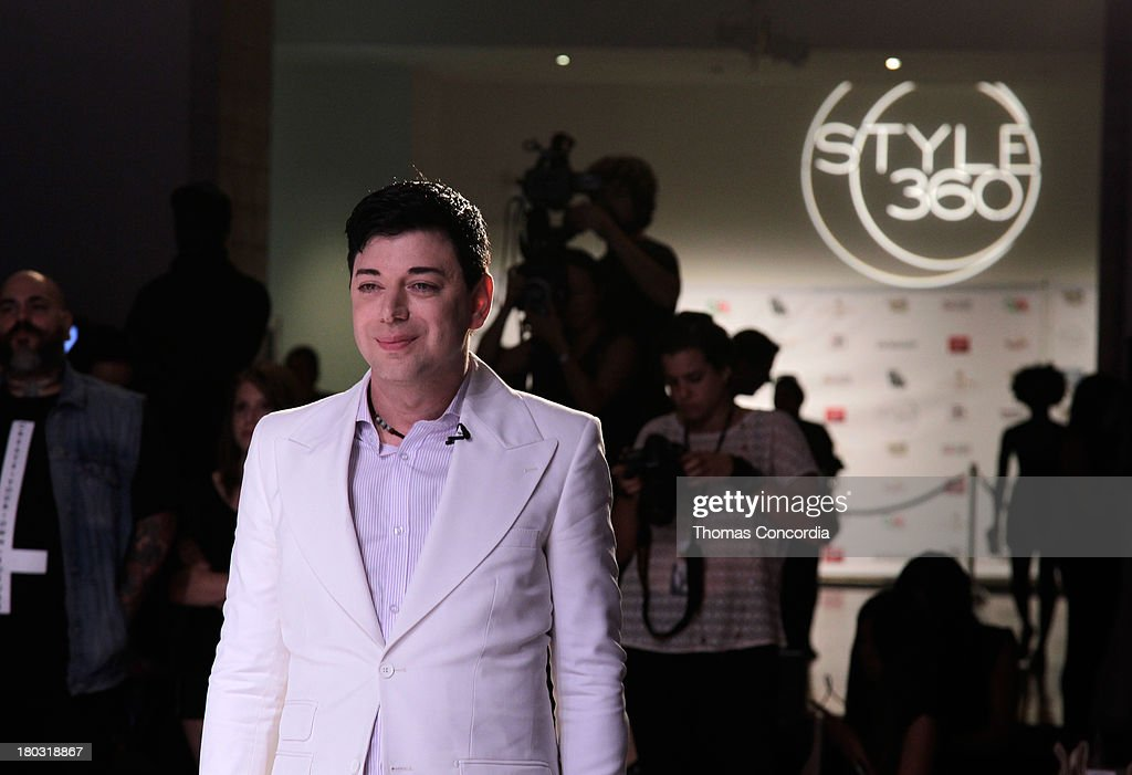 Malan Breton attends Malan By Malan Breton Sponsored by Fancy Feast Gourmet Cat Food at the STYLE360 Fashion Pavilion in Chelsea on September 11, 2013 in New York City.