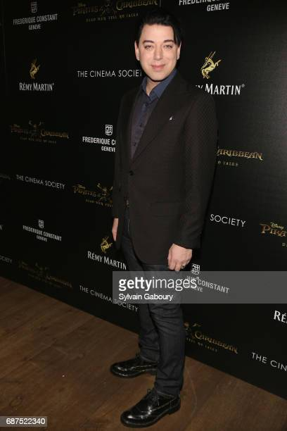 Malan Breton attends The Cinema Society with Remy Martin Frederique Constant host a screening of Pirates of the Caribbean Dead Men Tell No Tales on...
