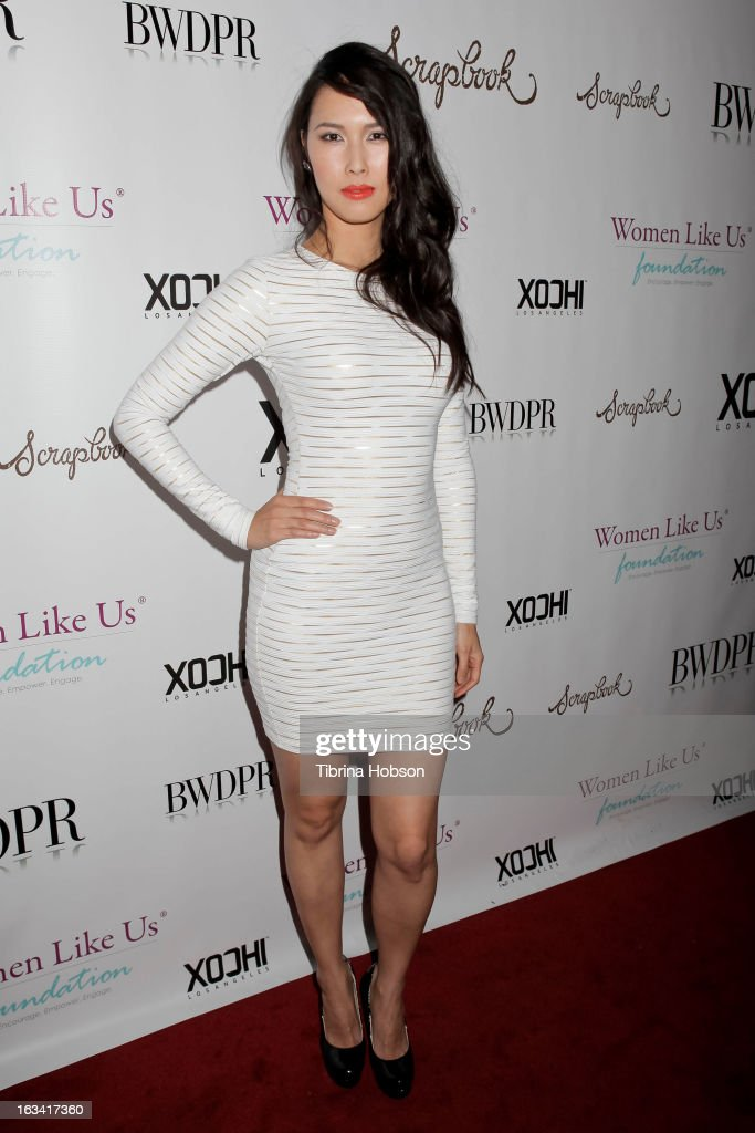 Malana Lea attends the pre-LAFW launch party in support of the Women Like Us Foundation at Lexington Social House on March 8, 2013 in Hollywood, California.