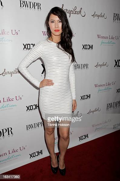 Malana Lea attends the pre-LAFW launch party in support of ...
