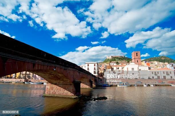 Malaspina Castle and Cathedral of the Immaculate Bosa Provincia Oristano Sardinia Italy