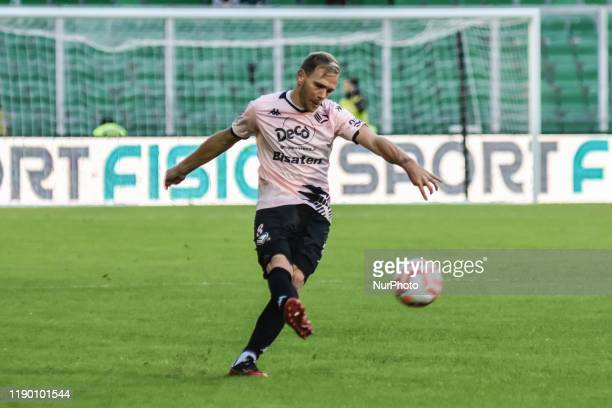 Malaury Martin during the serie D match between SSD Palermo and ASD Troina at Stadio Renzo Barbera on December 22, 2019 in Palermo, Italy.