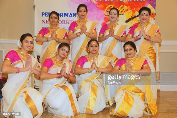 Malayalam dancers during the 6th Annual Celebrating Womanhood Gala held in Mississauga Ontario Canada on March 24 2018 The Celebrating Womanhood Gala...