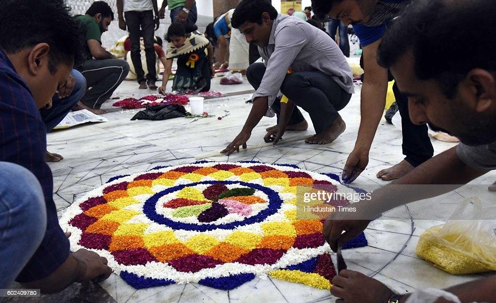Malayali Community Members Celebrate Onam Festival : News Photo