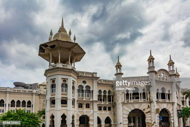 malayan railways station, kuala lumpur - pinnacle peak stock pictures, royalty-free photos & images