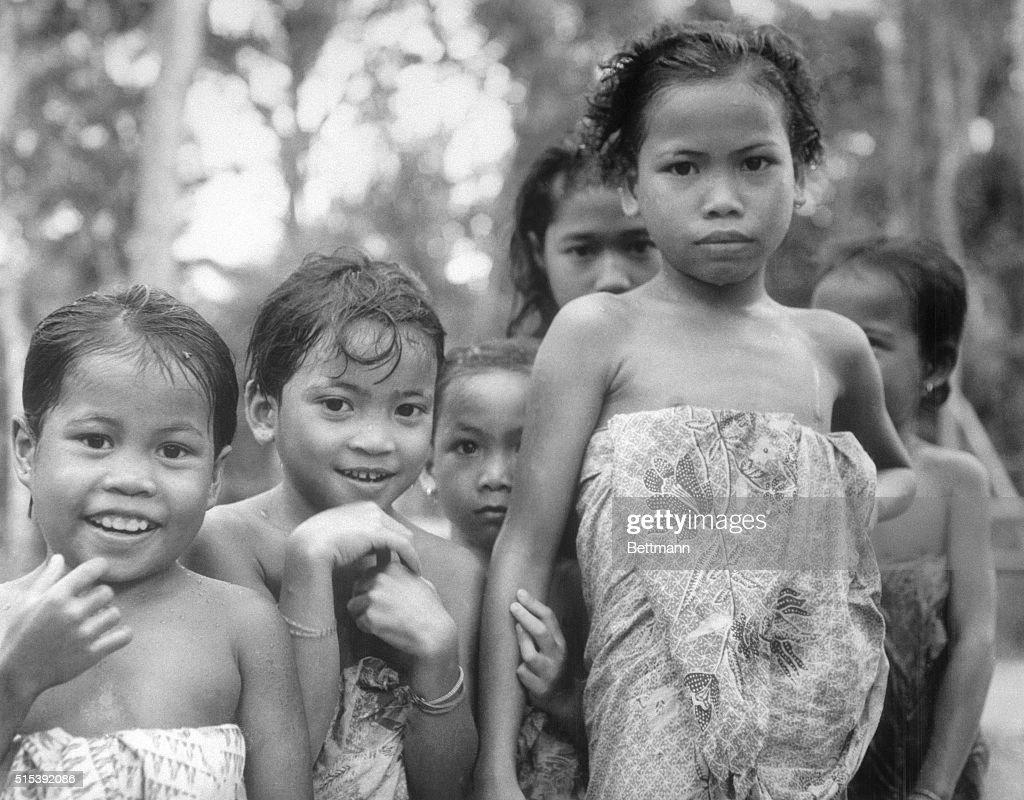 Children Of Borneo News Photo
