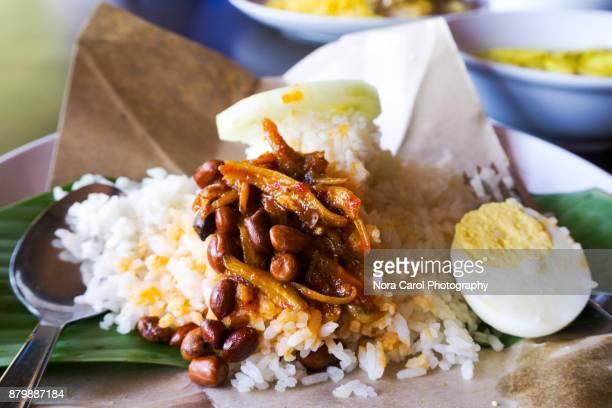 Malaysia coconut rice - Nasi lemak
