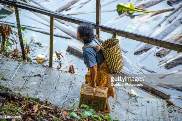 Malaysia: Iban Longhouse