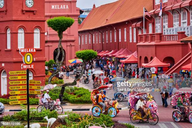 malaysia, malacca, city square - melaka state stock pictures, royalty-free photos & images