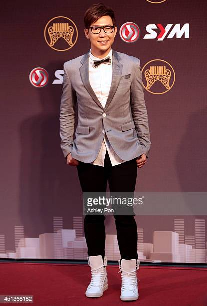 Malaysia singer Victor Wong arrives at the 25th Golden Melody Awards event on June 28 2014 in Taipei TaiwanThe Golden Melody awards in the annual...