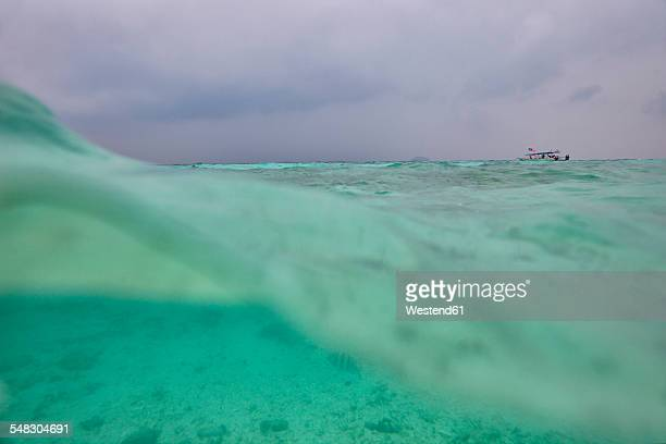 Malaysia, South China Sea, water surface