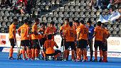 malaysia teamduring mens hockey world league
