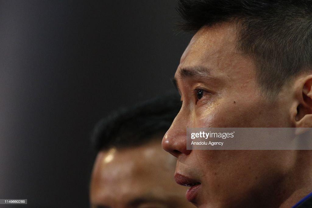 Malaysian Badminton icon Lee Chong Wei retires : Foto jornalística