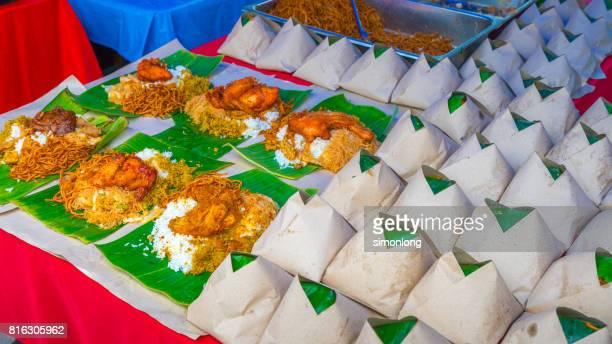 Malaysian food at Ramadan Bazaar in Malaysia