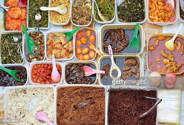 Malaysian food buffet