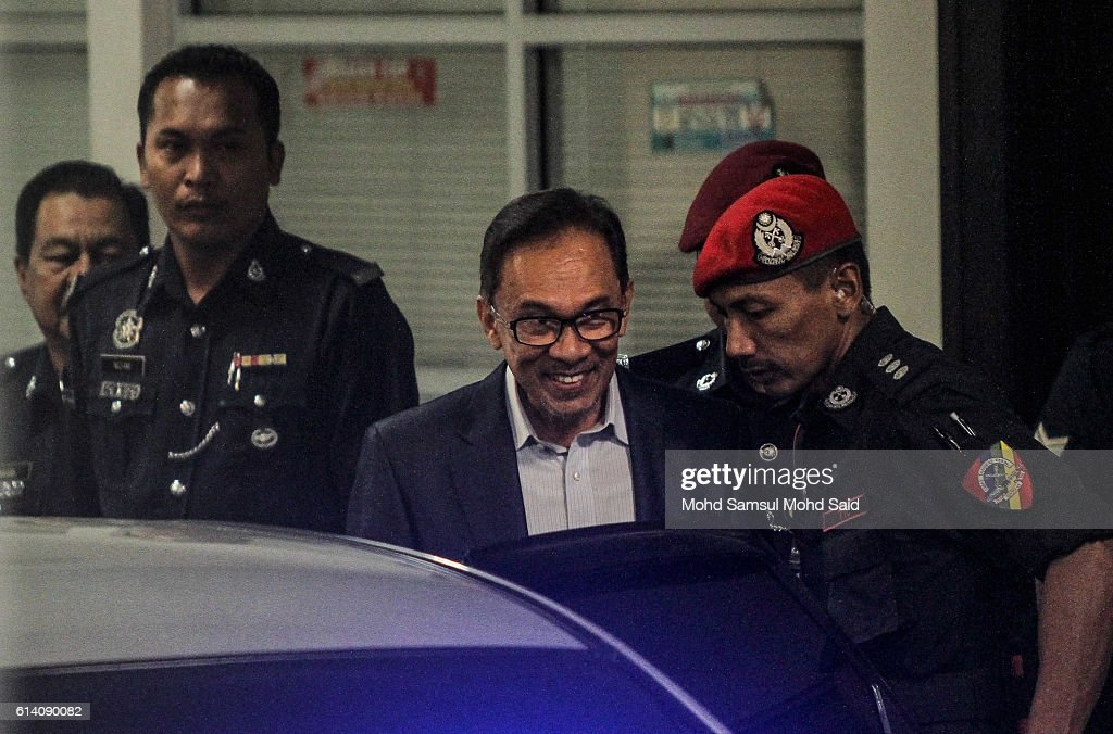 Malaysian Former Leader Anwar Ibrahim Meets Human Rights Lawyer