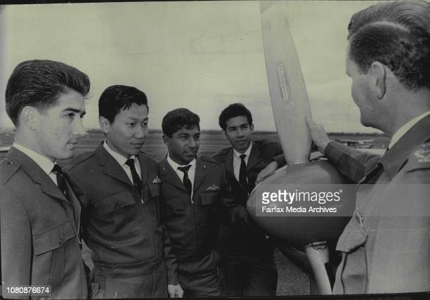 Malaysian Instructor Pat GallagherAdil Bin Ahamad The four men to whom July 20 1966
