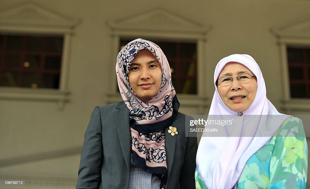 Image result for Wan Azizah and Nurul Izzah Anwar
