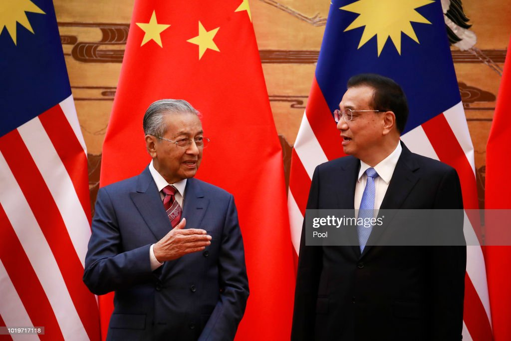Malaysian Prime Minister Mahathir Mohamad Visits China