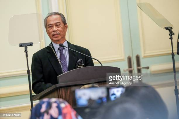 Malaysian Prime Minister Tan Sri Muhyiddin Yasin announced the cabinet lineup after being approved by King of Malaysia at the Prime Minister's Office...