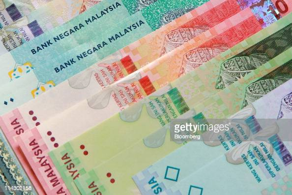 Malaysian ringgit banknotes issued by Bank Negara Malaysia are
