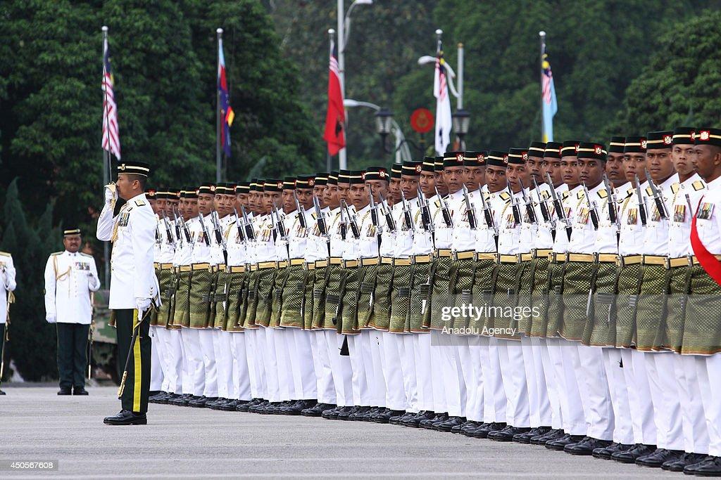 Malaysian King's Birthday Celebration : News Photo