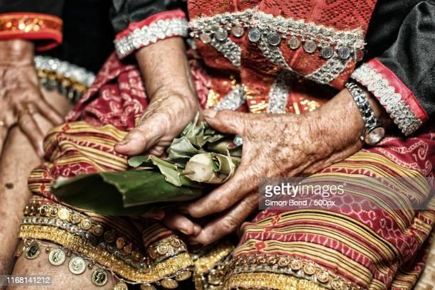 malaysian shaman - sarawak state stock pictures, royalty-free photos & images
