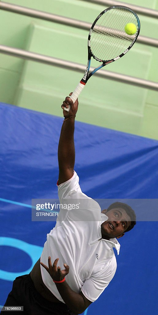 Malaysian tennis player Kanagaraj Balakr : News Photo