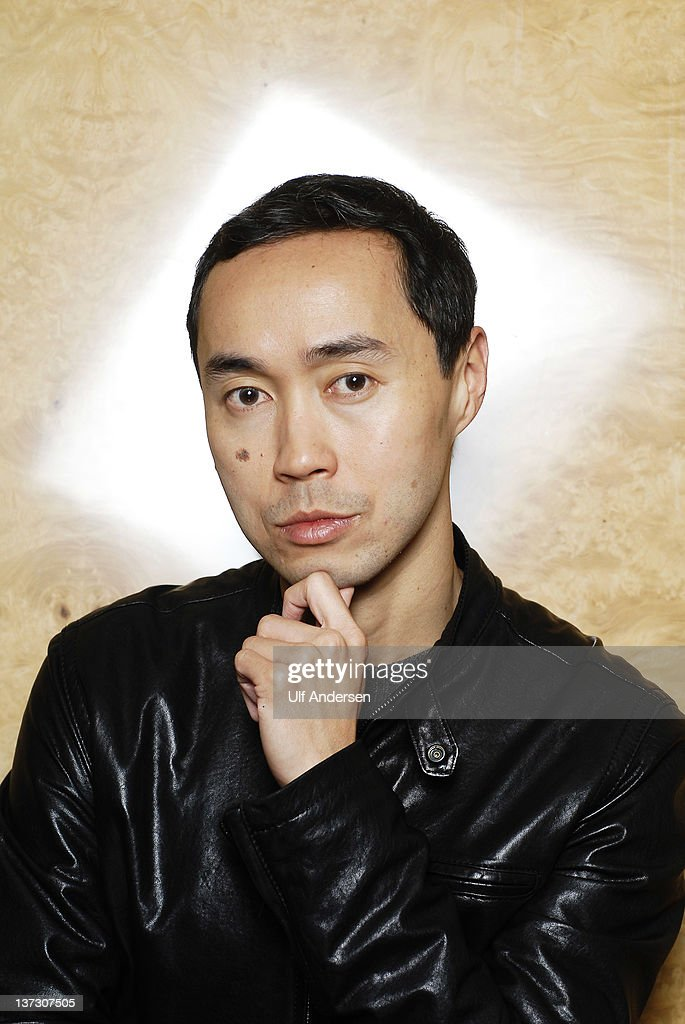 PARIS, FRANCE - JANUARY 18. Malaysian writer Tash Aw poses during a portrait session held on January 18, 2012 in Paris, France.