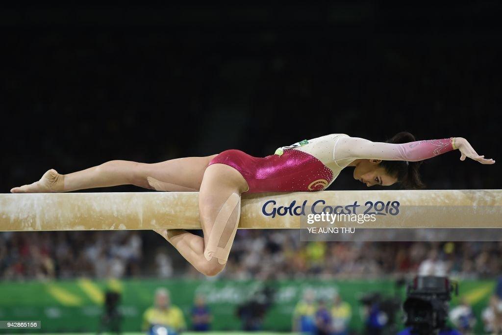 TOPSHOT-GYMNASTICS-CGAMES-2018-GOLD COAST : News Photo
