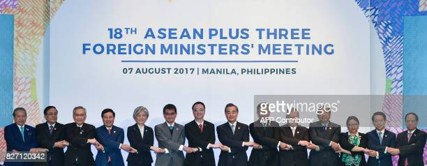 Malaysia's Foreign Minister Anifah Aman Myanmar's Minister of State of Foreign Affairs Kyaw Tin Thailand's Foreign Minister Don Pramudwinai Vietnam's...