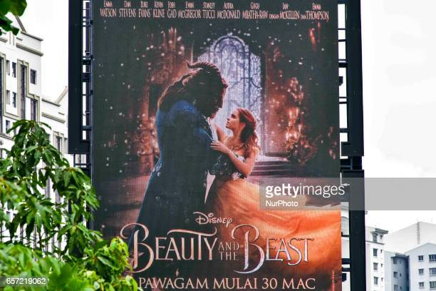 Malaysia's largest cinema chain, Golden Screen Cinemas said March 21 it will begin showing the Disney movie Beauty and the Beast on March 30 without...