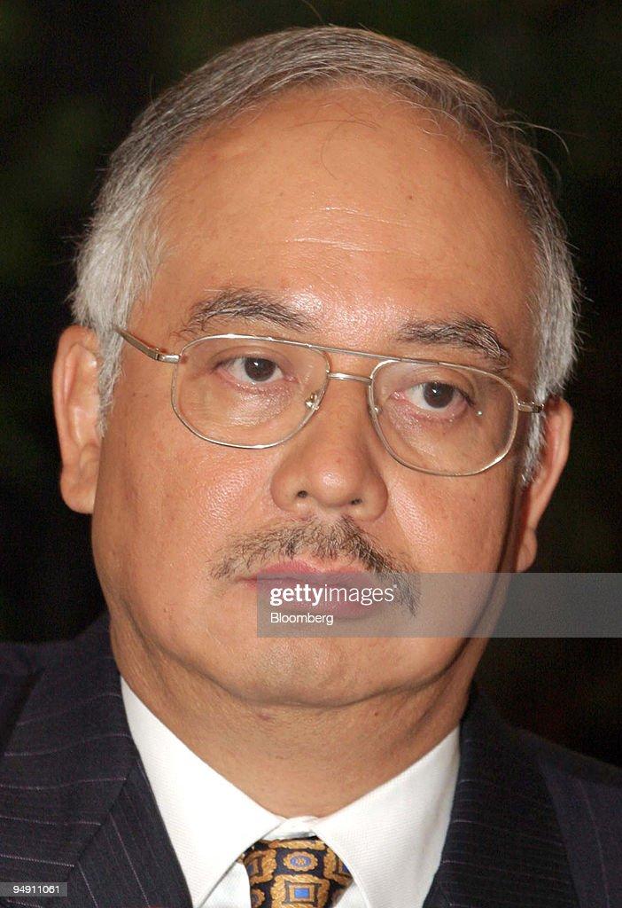 Malaysia's newly appointed Deputy Prime Minister Najib Tun R : News Photo