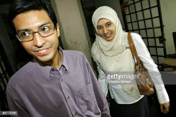 Malaysia's opposition People's Justice Party candidate Nurul Izzah Anwar daughter of former deputy prime minister and opposition icon Anwar Ibrahim...