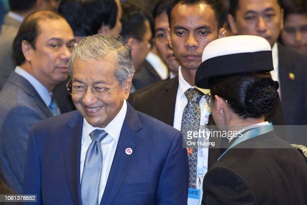 November 14: Malaysia's Prime Minister Mahathir Mohamad attends the ASEAN-Russia summit on the sidelines of the 33rd Association of Southeast Asian...