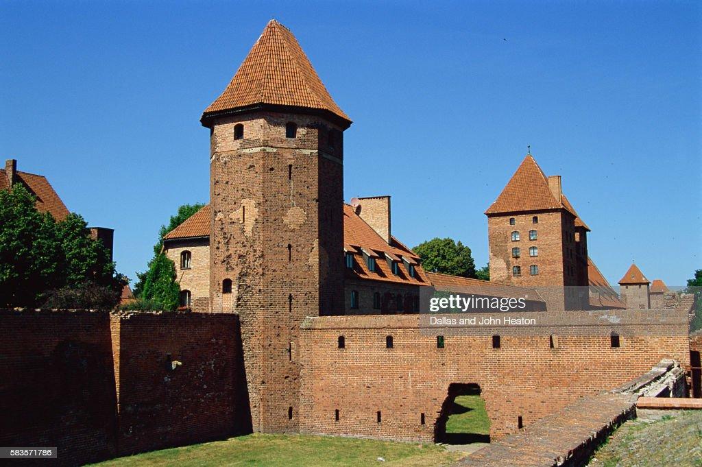 Malbork Castle, Malbork, Poland : Stock Photo