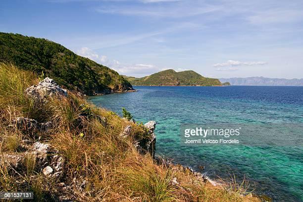 malcapuya island, coron, palawan, philippines - joemill flordelis stock pictures, royalty-free photos & images