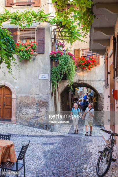 malcesine, italy - malcesine stock pictures, royalty-free photos & images